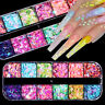 Colorful Flakes Holographicss Butterfly Nail Glitter Sequins Nail Art Decoration
