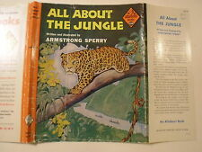 All About the Jungle, Armstrong Sperry, Dust Jacket Only