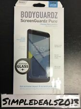 BodyGuardz Pure Tempered Glass Screen Protector for Motorola Google Nexus 6