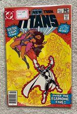 The New Teen Titans #3 Origin Starfire, Intro The Fearsome Five