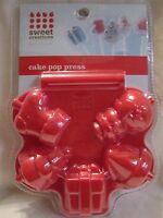 New Cake Pop Press Sweet Creations By Sweet Creations Christmas Designs NIP