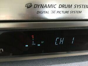 Vintage JVC HR-S9400EK VHS video recorder + remote. Clearance find.