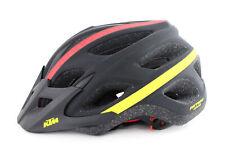 "KTM MTB Fahrrad Helm ""Factory Character"" Gr. 54 bis 58, Schwarz Rot Gelb"
