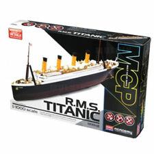 ACADEMY #14217 1/1000 Scale Plastic Model Kit R.M.S TITANIC Multi-Colored Parts