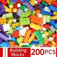 Building Blocks DIY Creative Bricks Model Educational kids Toy 200 Pcs