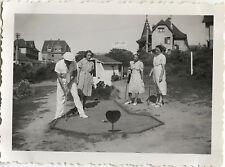 PHOTO ANCIENNE - VINTAGE SNAPSHOT - SPORT LOISIRS MINI GOLF MODE - FASHION 2