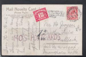Family History Postcard - Poyser - Mansfield, Nottinghamshire RF4852