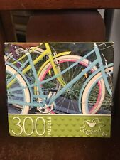 *NEW* Bicycles Colorful 300 Piece Puzzle By Cardinal