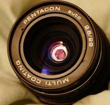 Pentacon 29mm f/2.8 ( as Meyer-Optik Orestegon) Lens In M42 Pentax Screw Mount