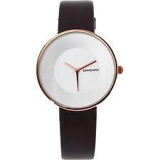 New Genuine LAMBRETTA Cielo 34 Gold White Moro Black Leather Watch 2204MOR Gift