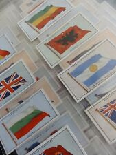 Full Set: FLAGS OF THE LEAGUE OF NATIONS - John Player & Son 1928