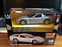 Maisto 1/24 Scale #39940 '97 Chevrolet Corvette Assembly Line - Assembled Kit