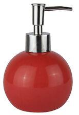 Distributeur de savon rouge doseur distributeur de savon rouge rond