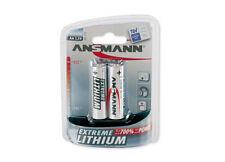 8St. x Ansmann EXTREME Lithium AA Batterien für Rauchmelder Hochtemperaturzellen