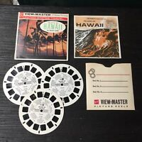 Vintage View-Master 3-Reel Set The Island Of Hawaii Complete A321