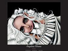 FANTASY ART PRINT Eirwen Angelina Wrona 9x11.75