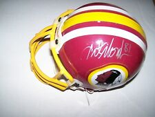 Art Monk Autographed Redskins Mini Helmet