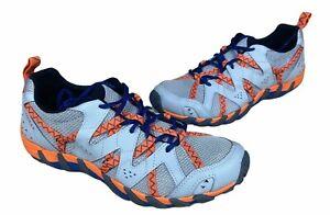Merrell Waterpro Maipo 2 Grey Orange Size 9 Mens Outdoors Hiking Shoes J034051
