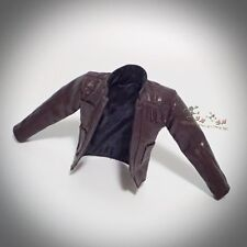 Hot Toys MMS374 Star Wars: The Force Awakens HAN SOLO Figure 1/6th BROWN JACKET