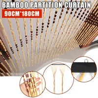 Bamboo Curtain Home Bedroom Decoration Wedding Flower Romantic Partition 180CM