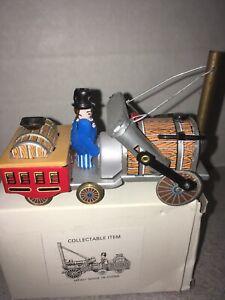 Tin Toy Barrel Tractor MF421 Made China