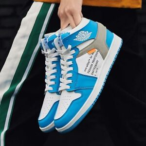 Men's High Top Sneakers Hip Hop Shoes Comfortable Casual Athletic Sneakers