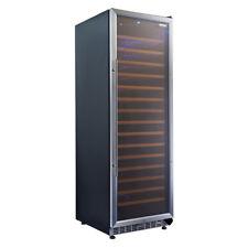 Husky Vino Pro Single Zone 168 Bottle Wine Fridge/Cabinet (Stainless Steel)