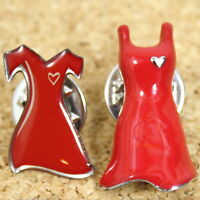 American Heart Association Red Dress Pin Lot Of 2 Pinbacks