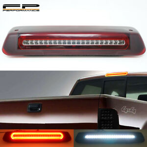 For 04-08 Ford F150 Optic Style LED 3rd Third Brake Light Cargo Lamp Red Clear