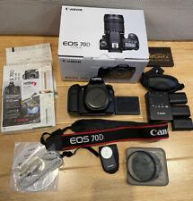 Canon Eos 70D Digital Slr Camera - Dslr Body - With Extras - Read Description
