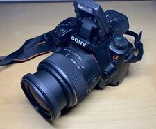 Sony Alpha a37 16.1MP Digitalkamera - Schwarz (Kit mit 18-55mm Objektiv)