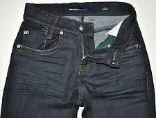 Miss Sixty Women's Sunrise Dk Blue High Rise Straight Leg Jeans 25X32 EUC ITALY