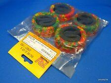 26mm Multi-Colors Radial Tire + Inner Sponge (Ride TTR66CO) Tamiya Yokomo Kyosho