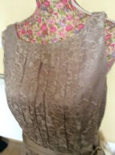 Monsoon Nude Lace Leigh Dress Size 10 Holiday 11/9