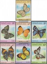 Laos 897-903 (complète edition) neuf avec gomme originale 1986 Papillons