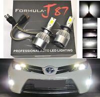 LED Kit C6 72W H7 6000K White Two Bulbs Light Turn Cornering Replace Upgrade OE