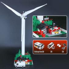 37001 873Pcs Landmark View Series Vestas Wind Turbine Building Blocks 4999