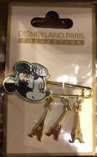 PIN Disneyland Paris EPINGLE TOUR EIFFEL MINNIE PARISIENNE OE