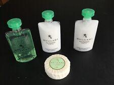 Bvlgari Eau Parfumee Au The Blanc, Travel Soap, Shampoo and Conditioner