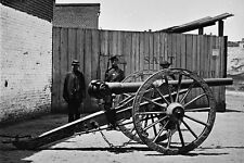New 5x7 Civil War Photo: Whitworth Gun Cannon Awaits Shipment in Richmond - 1865