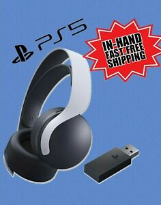 PS5 Pulse 3D Wireless Headphones/Headset ~PlayStation 5 *IN-HAND/FEDEX SHIPPING