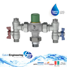 Galvin Engineering - CliniMix® Lead Safe™ Thermostatic Mixing Valve With - 15