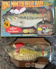 New listing Christmas Big Mouth Billy Bass Sings For The Holidays