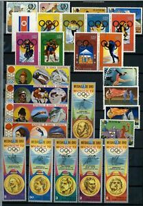 Sports, Olympics Thematics Page Full Of Stamps #W1039