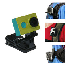 360°Rotate Backpack Hat Clip Quick Fast Clamp Mount For Sjcam Sj6000 Sj7000 Tr