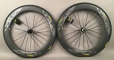 Mavic Comete Pro Carbon Disc Brake Road Bike Wheels Tubeless & Tires MSRP $2100