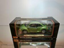 MAISTO 31875 VW VOLKSWAGEN NEW BEETLE - GREEN METALLIC 1:18 - EXCELLENT IN BOX