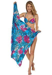 Schiesser Aqua Ladies Pareo Cloth Wraparound Garment Swimwear