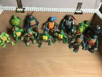 Huge Teenage Mutant Ninja Turtles TMNT Collection Toy Figures X 14  Bundle