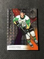 2019-20 SP GAME USED KAIDEN GUHLE AUTHENTIC PROSPECTS ORANGE #ed 64/199